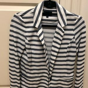 Splendid knit strip blazer
